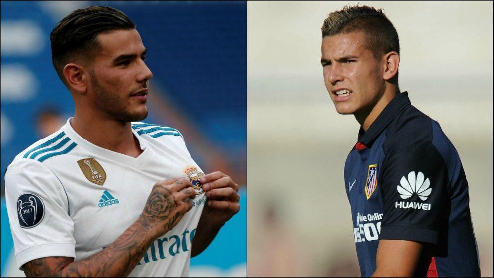 Theo y Lucas Hernández se verán las caras en el derbi.