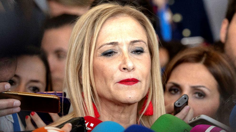 Cristina Cifuentes  en la Convención del PP en Sevilla. (Foto: EFE)   Última hora Cristina Cifuentes