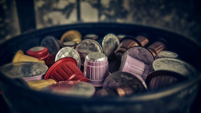 hacer manualidades con capsulas de cafe