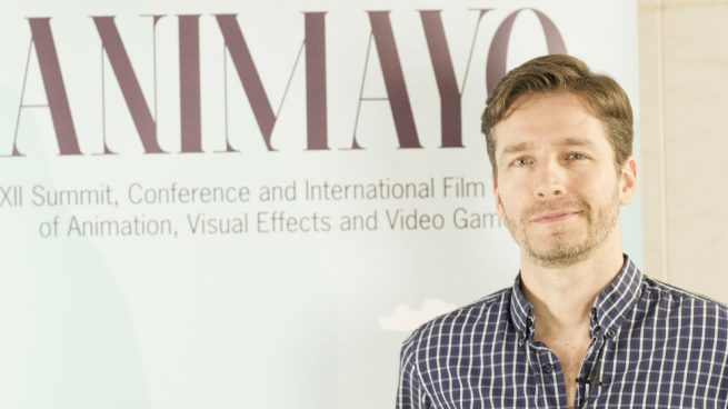 Damián Perea, director del festival de cine de animación Animayo.