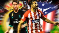 Diego Costa y Sergio Ramos vuelven a verse las caras en un derbi.