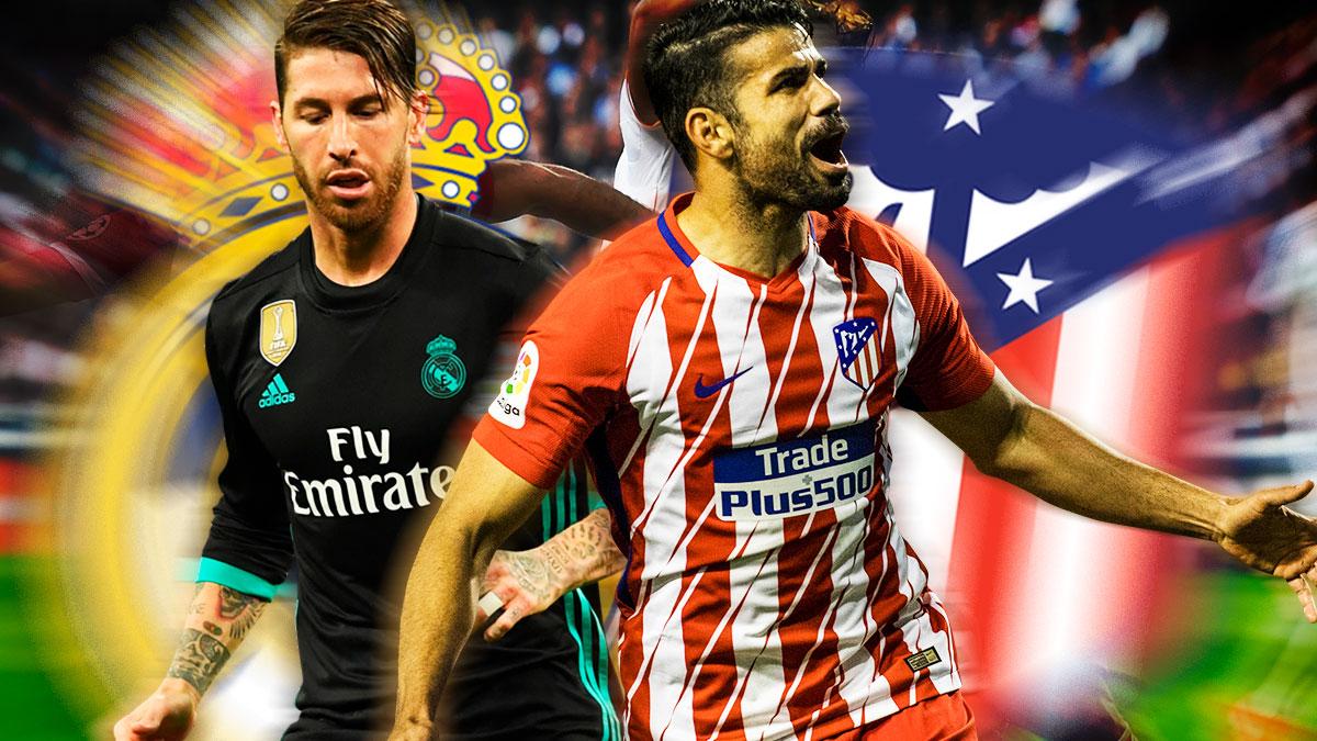 Las apuestas más extravagantes y millonarias del Atlético-Real Madrid.
