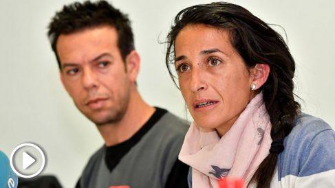 Patricia Ramírez y Ángel Cruz, padres de Gabriel Cruz. (Foto: EFE)