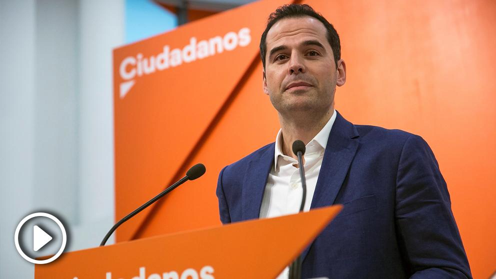 Ignacio Aguado, líder de Ciudadanos en la Comunidad de Madrid. (Foto: EFE)