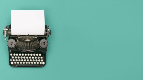 Una antigua máquina de escribir (Foto. IStock)