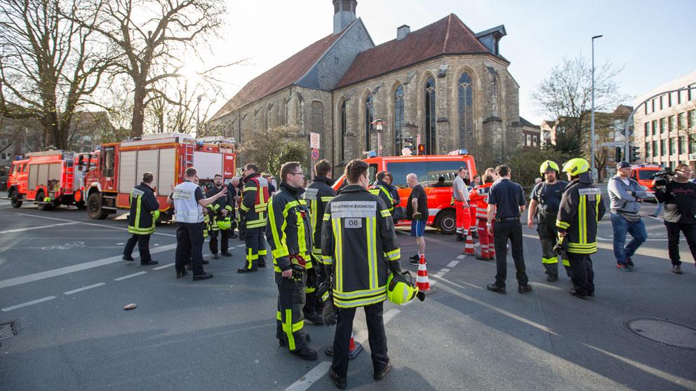 Atentado en Münster (Foto: AFP)