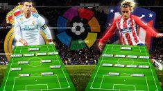 Real Madrid – Atlético de Madrid hoy | Derbi, Liga Santader