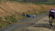 El ciclista Michael Goolaerts sufrió un infarto.