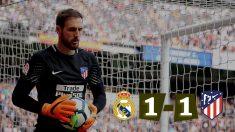 Oblak frenó al Real Madrid en el Bernabéu. (Foto: Enrique Falcón)