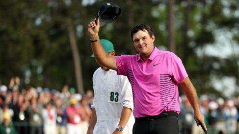 Reed tras ganar el Masters de Augusta. (AFP)