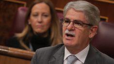 Alfonso Dastis en el Congreso. (Foto: PP)