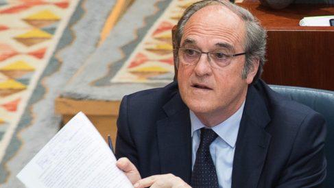 Ángel Gabilondo en la Asamblea. (Foto: PSOE)