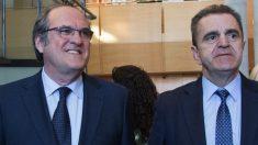 Ángel Gabilondo y José Manuel Franco. (Foto. PSOE)