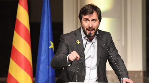 Toni Comín, ex conseller golpista catalán fugado en Bélgica. (Foto: AFP)