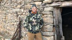 El hijo mayor del presidente de EEUU, Donald Trump Jr, en la sierra de Gúdar (Teruel).