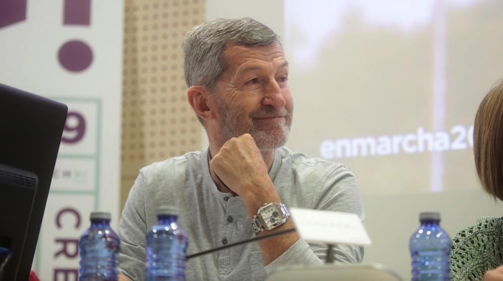 El ex Jemad Julio Rodríguez. (Foto. Podemos)
