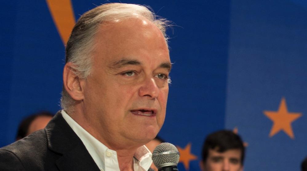 Esteban Gonzalez Pons en la Convención Nacional en Sevilla 2018. (Foto. PP)