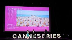 Ianuguración del festival de series Canneseries. Foto: AFP
