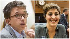 Iñigo Errejón y Lorena Ruiz-Huerta. (Fotos. Podemos)