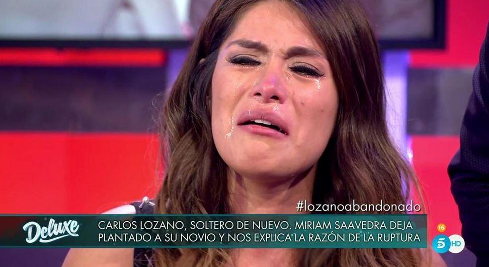 Miriam Saavedra narra la relación con Lozano en Sálvame Deluxe.
