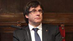 Primer plano de Carles Puigdemont. (Foto. Flickr)