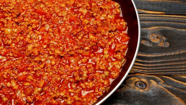 Receta de macarrones con carne y bechamel