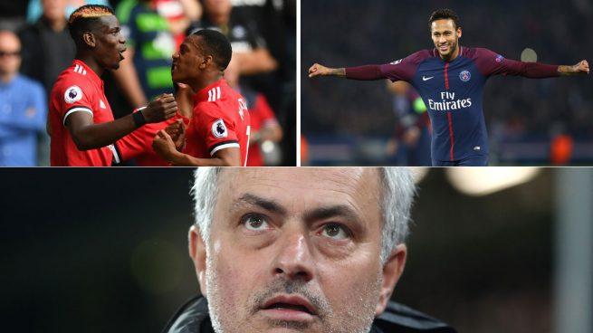 El 'superofertón' de Mourinho por Neymar incluye a Pogba y Martial
