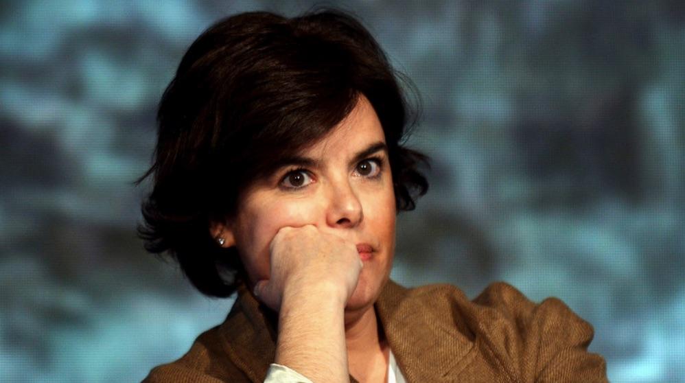 Soraya Saenz de Santamaría. (Foto. PP)