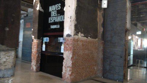 Taquillas del Matadero Madrid. (Foto. OKDIARIO)