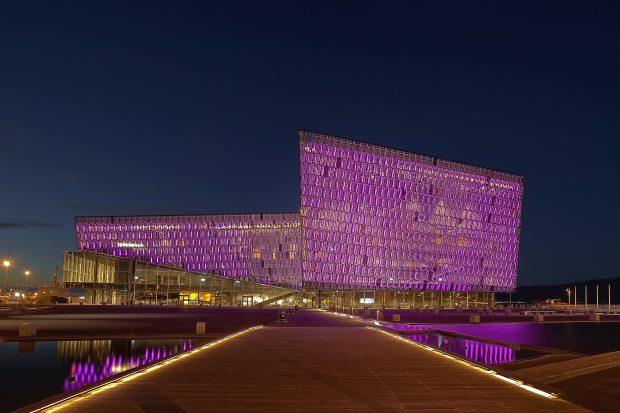 El auditorio Harpa, donde se ha celebrado el Sónar Reykjavíc durante los últimos seis años.