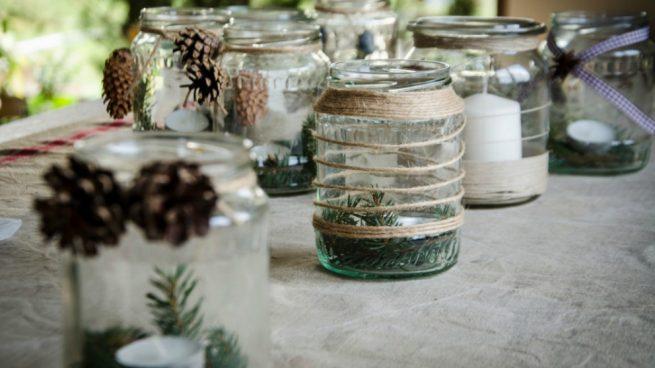 C mo decorar botes de cristal con ideas f ciles y bonitas - Como decorar botes de cristal para chuches ...