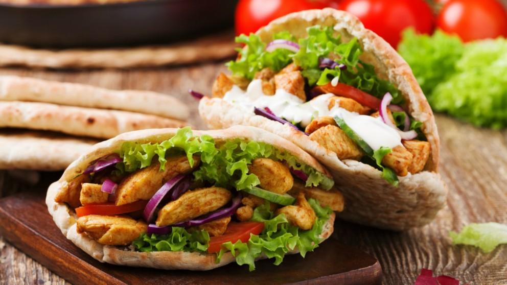 Receta de kebab casero de pollo paso a paso