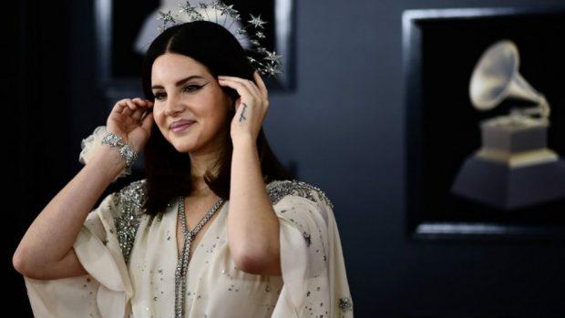 Lana del Rey en los Grammy 2017. Foto: AFP