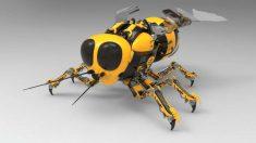 Unos insectos artificiales que ayudarán a reconocer el terreno marciano