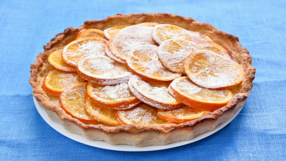 Deliciosa receta de naranjas caramelizas.