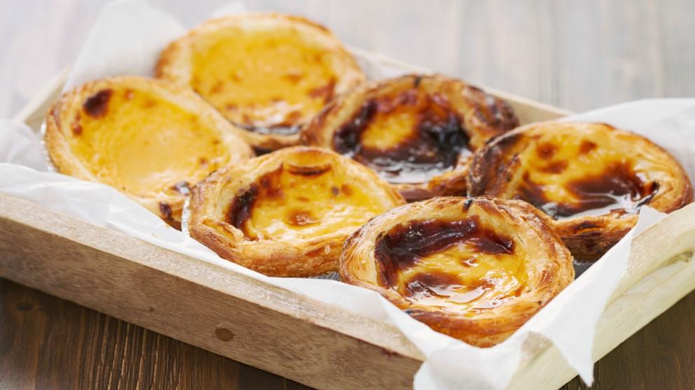 Receta de pastel de nata portugués o patéis de Belém