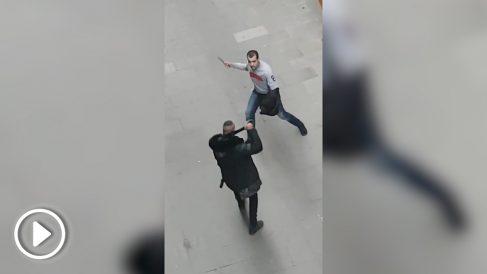 """Una pelea acaba con un detenido y un torniquete en la Barcelona """"segura"""" de Colau"""