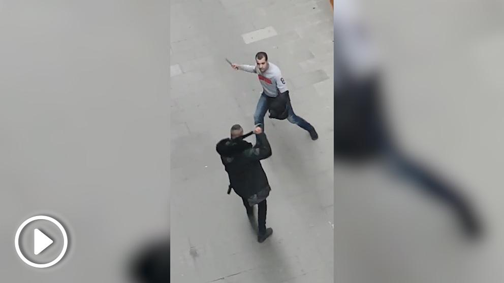Una pelea acaba con un detenido y un torniquete en la Barcelona «segura» de Colau