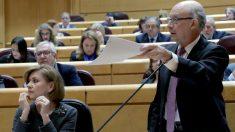 Sesión de control al Gobierno en el Senado (EFE).