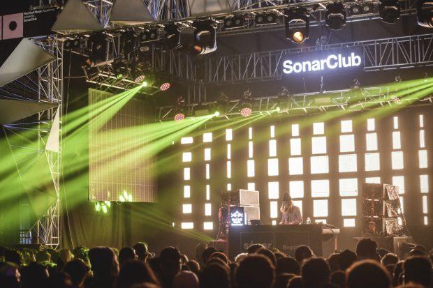 Un momento de Sónar Bogotá .