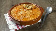 Receta de sopa de pan fácil de preparar paso a paso