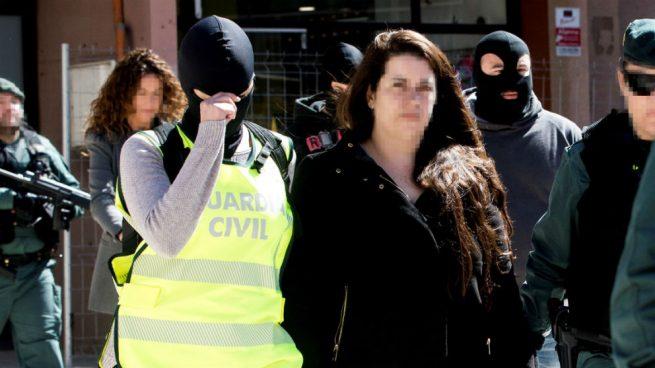La coordinadora de los CDR y nº 3 de Podemos Viladecans, Tamara Carrasco (Foto: EFE)