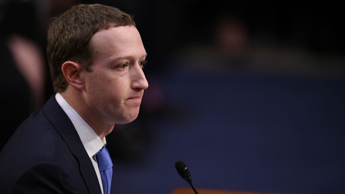 Zuckerberg ante el Senado de EE.UU. (AFP)
