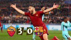 El Roma -FC Barcelona lo más visto por la audiencia ayer martes.