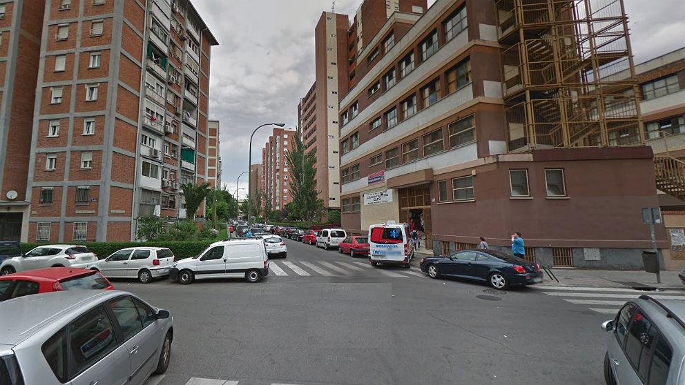 Fachada de la calle Elfo, 79, donde se produjo el suceso.