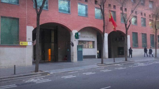 Cuartel de la Guardia Civil en Travessera de Gràcia (Barcelona).