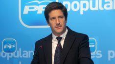 Guillermo García Longoria, parlamentario del PP andaluz.
