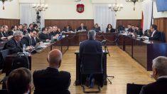 El expresidente de la Junta de Andalucía José Antonio Griñán durante su declaración en el juicio de los ERE. (Foto: EFE)