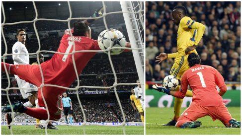 Keylor Navas falló en el segundo y el tercer gol de la Juve. (AFP)