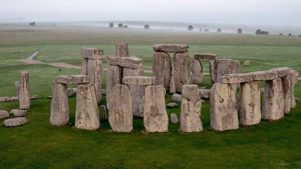 Algunas de las piedras ya estaban allí antes de la llegada de los humanos